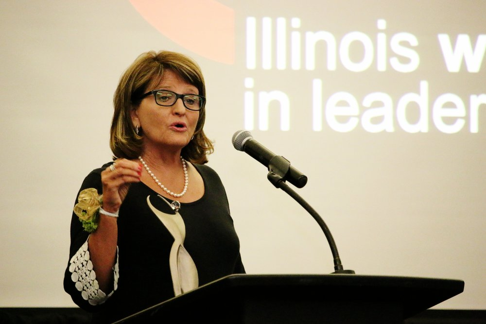 Illinois Women in Leadership Athena Award 2017 winner Margaret Ann Jessup July 27, 2017.
