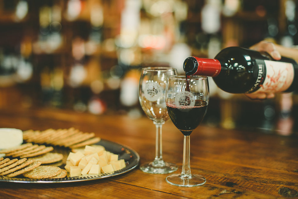 Friendly and expert advice to help find the perfect wine and cheeses for you and your friends.