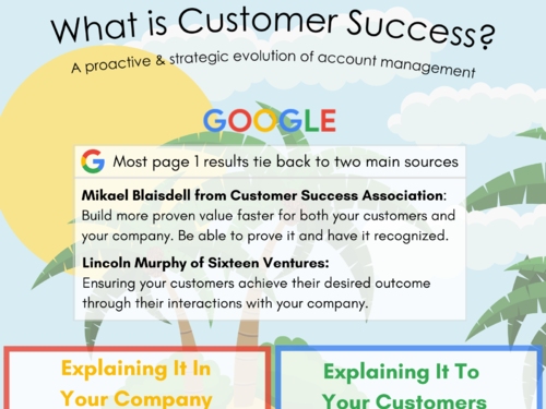 INTRO TO CUSTOMER SUCCESS - Answering that question: What IS Customer Success?