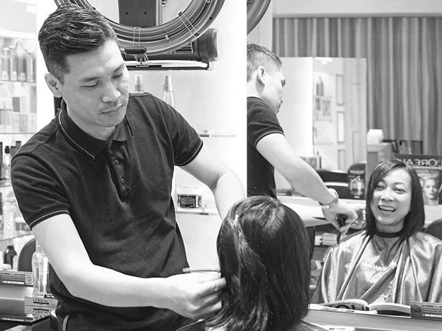 You've always wanted. Take a look at our team profiles and see which of our expert hairstylists would be just right for you! - Calvin Chau, Artistic Team Stylist and Founder |  In 2009, Calvin opened AMOUR SALON in the CBD of Wanchai, Hong Kong, and brought together a team of stylists.  Being in the field for 15 years, Calvin enrolled in various training programs by Vidal Sassoon Academy. Not only did he took part in the Asia Hairstyling Competition, he is also being featured in hairstyle magazines and worked as top stylist for fashion shows.  入行15年,曾於Vidal Sassoon Academy修讀,更曾參加亞洲髮大賽、髮型雜誌及時裝表演等等相關髮型設計工作 - #team #hairsalon #hair #olaplex #olaplextreatment #coloring #haircoloring #haircare #hairdresser #wanchai #salonhk #hairsalonhk #lorealprofessionnel #stylist #hairstylist #red #hkig #hksalon #hairdo