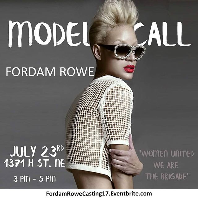 Model call with designer @fordamrowe and myself on June 23rd!! I'd love to see all my DC top models come out.
