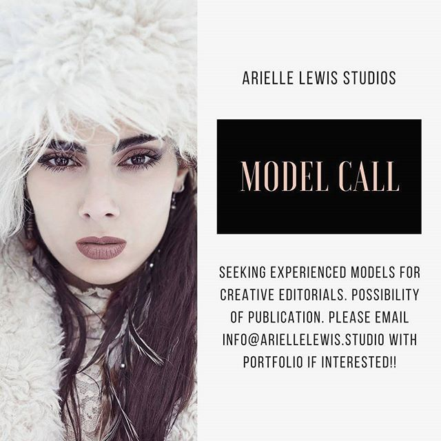 Searching for experienced models for a couple personal projects with goal of publication! Please email with your portfolio if interested 📸