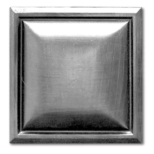 Beveled Square Pewter And Orb Resin Wall Tile Metal Tile Tech