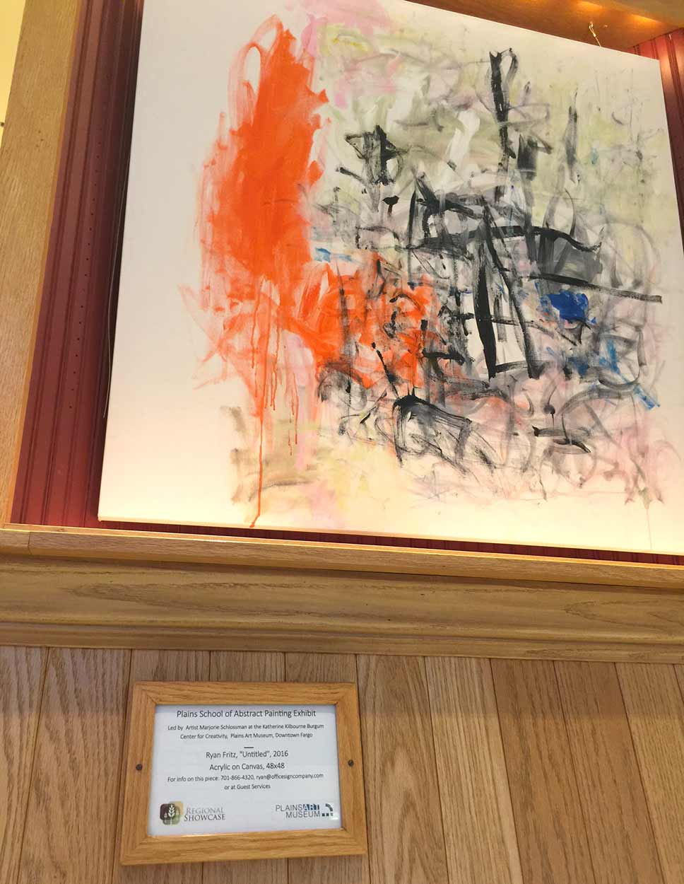 Abstract Painting at West Acres Mall - 2017