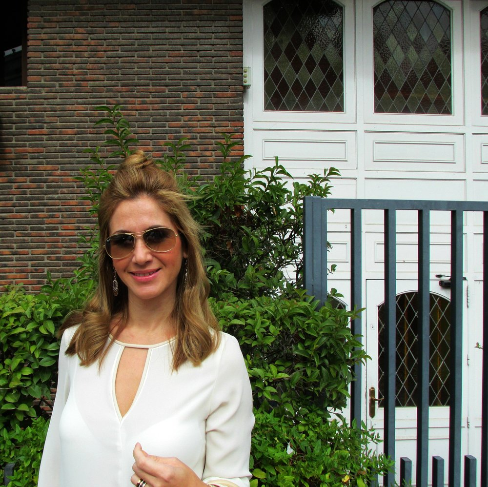 Camel skirt fashion blog 2