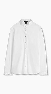 White elegant blouse/ Blusa blanca elegante