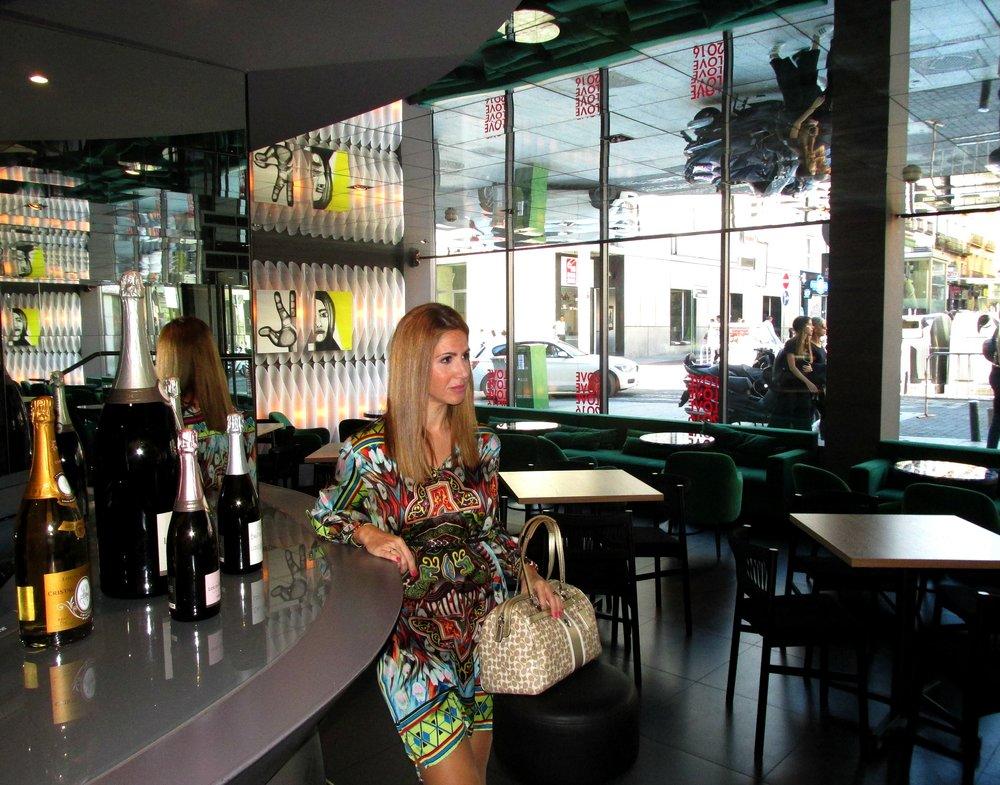 Colouful dress fashion blog 5