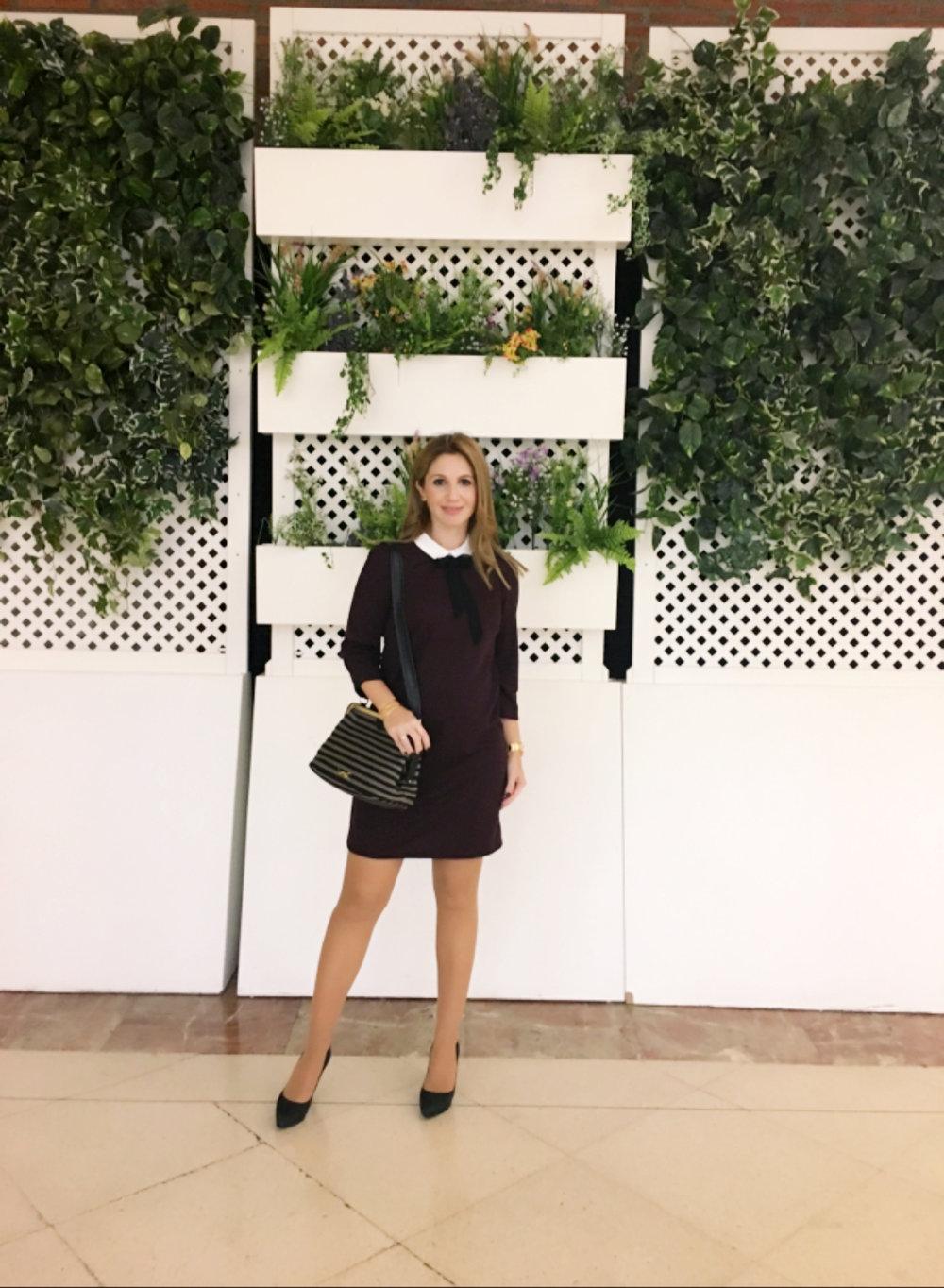 black ribbon fashion blog1