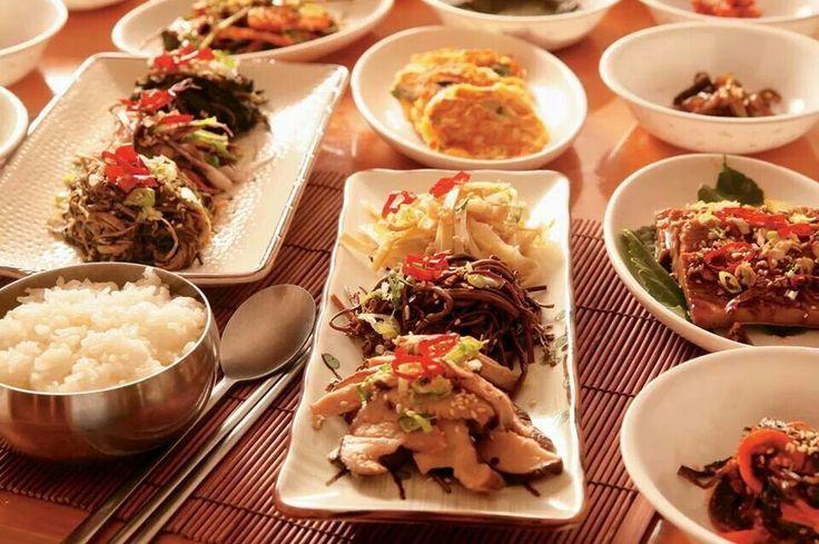 several meals