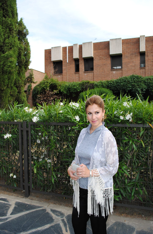 kimono with fringes