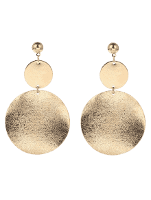 Golden earrings / Pendientes dorados