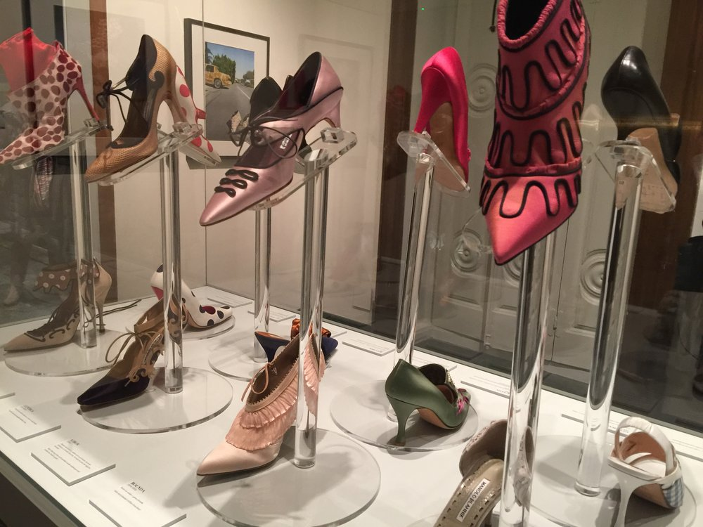 Manolo Blahnik exhibition