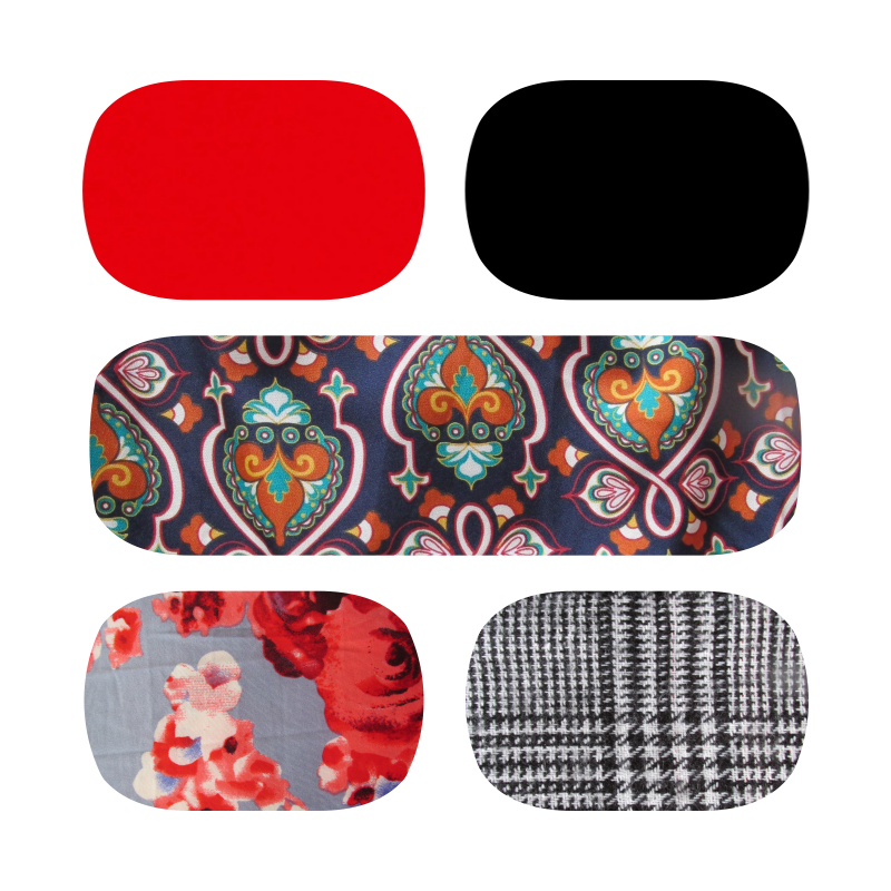 You can tell that all this prints/colors combine with red or black shoes/ Si os dais cuenta cualquiera de estos estampados/colores combinan con zapatos rojos o negros.