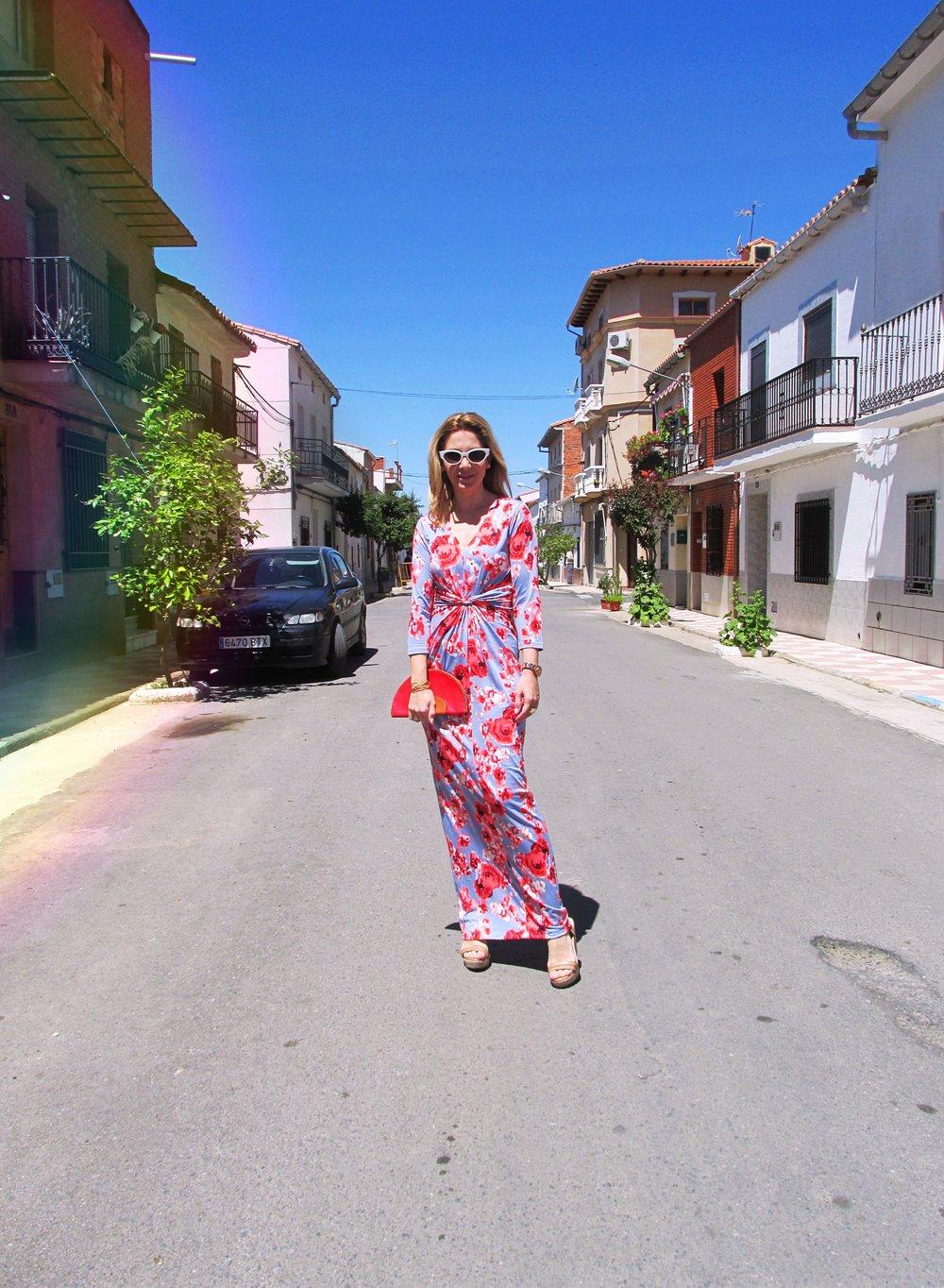 long-floral-dress