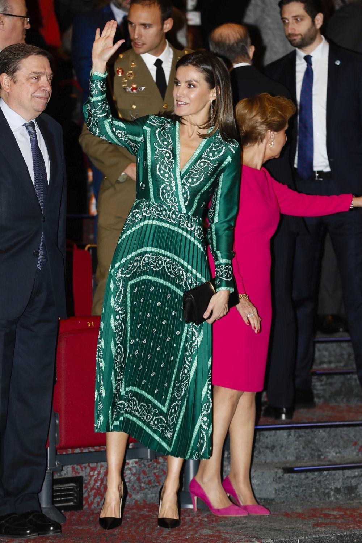 vestido-sandro-reina-letizia