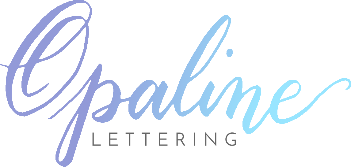 Opaline Lettering :: Southern California Calligrapher