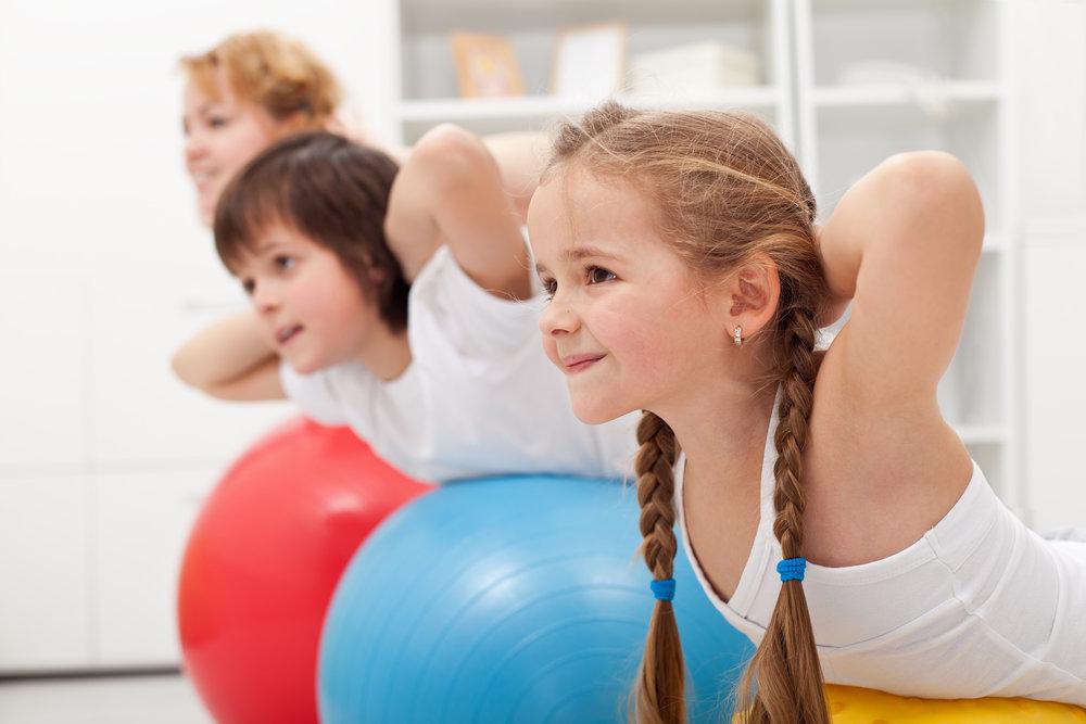 The Rec Center Offers Family Fitness Clinics & Programs