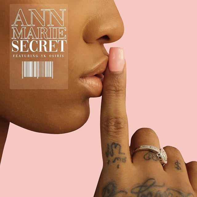 Secret 🤫💗 @iam__annmarie just dropped! Featuring @ykosiris Link in bio ‼️#annmarie