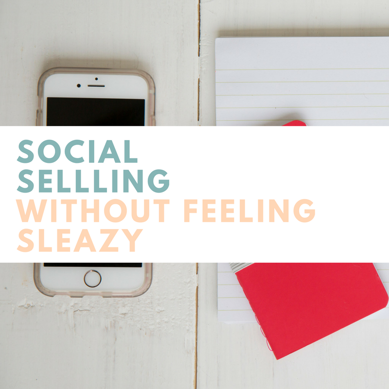 Social Selling Without Feeling Sleazy  - Coming soon   A four-week coaching group designed to help you harness the power of social media to launch and sell your product. We will walk through a time table for launching your product as well as discuss tactics for selling without being pushy or feeling sleazy.