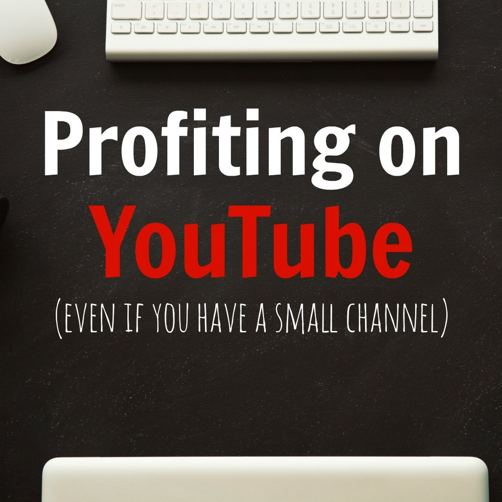 Profiting on YouTube (even if you have a small channel)   - Coming soon   This is a four-week coaching group dedicated to showing you how I set up, manage and promote a profitable YouTube channel. We will discuss how to find viewers, gain traffic and create an income stream.