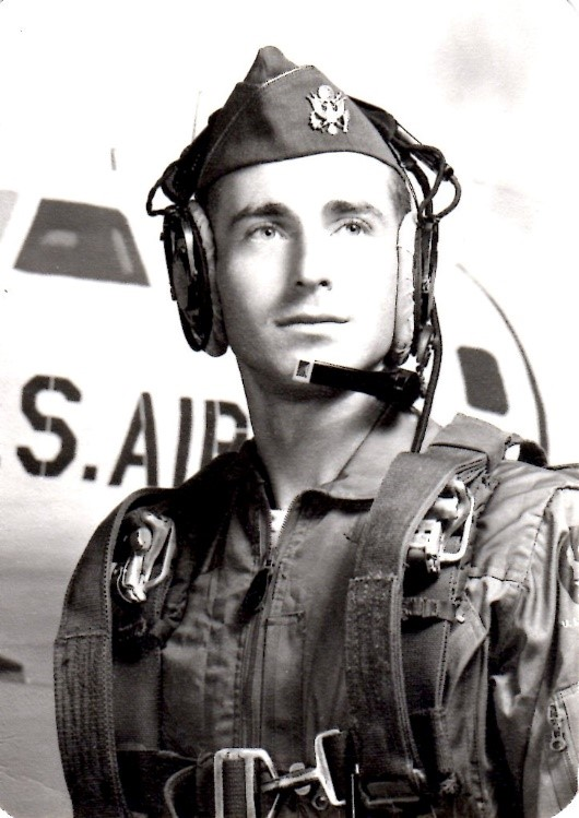 Lt. Leach, a navigator in the Strategic Air Command, USAF.