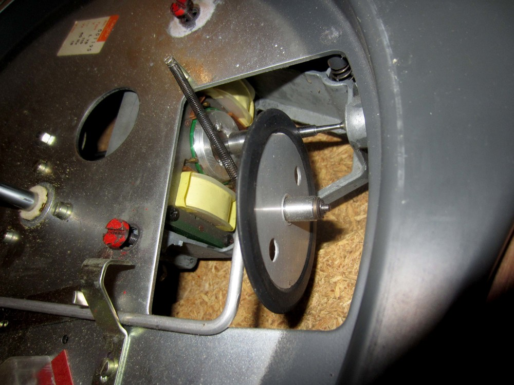 Figure 2: idler wheel and motor