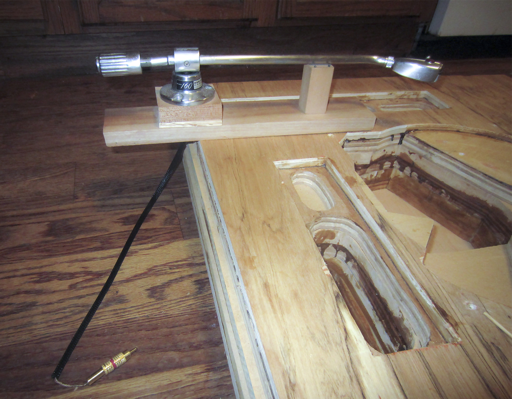 Figure 7:Rek-O-Kut 160 tonearm