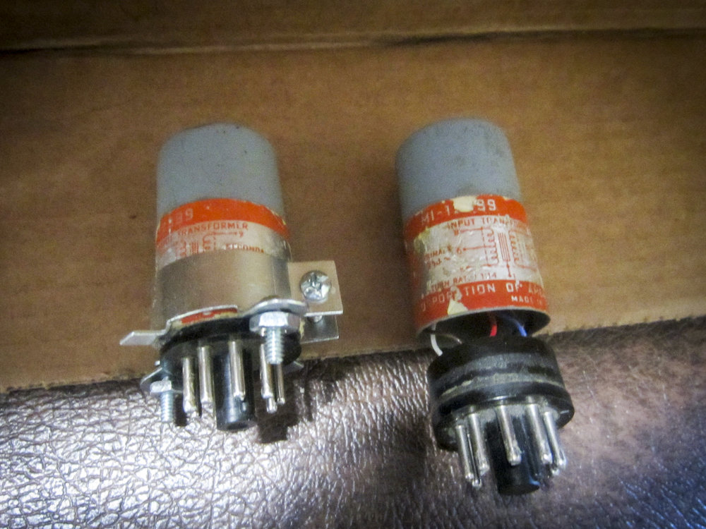 Figure 1:  RCA 12399 microphone transformers