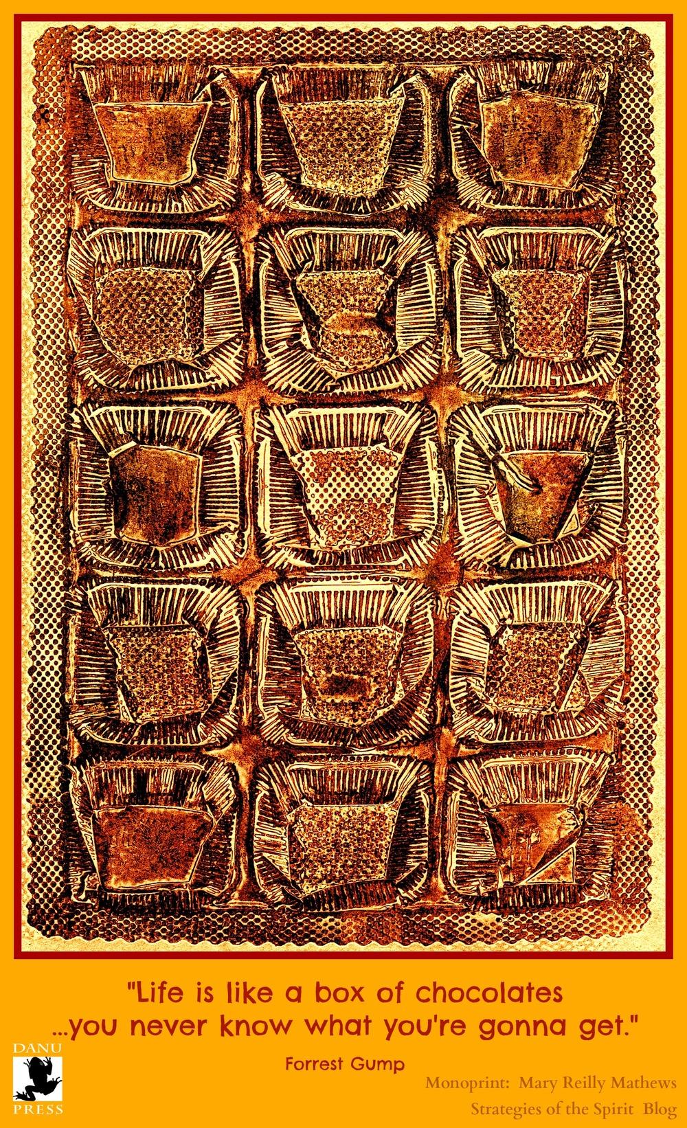 BOX OF CHOCOLATES PIN