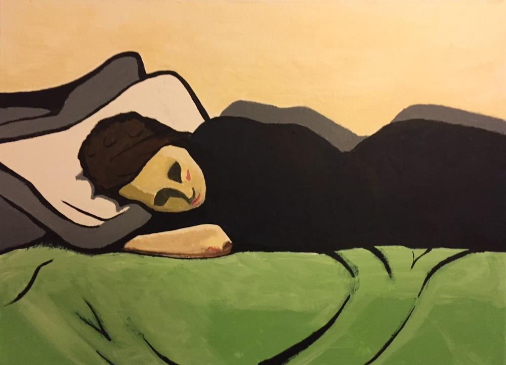 Theodor W. Adorno's Bed, 2016