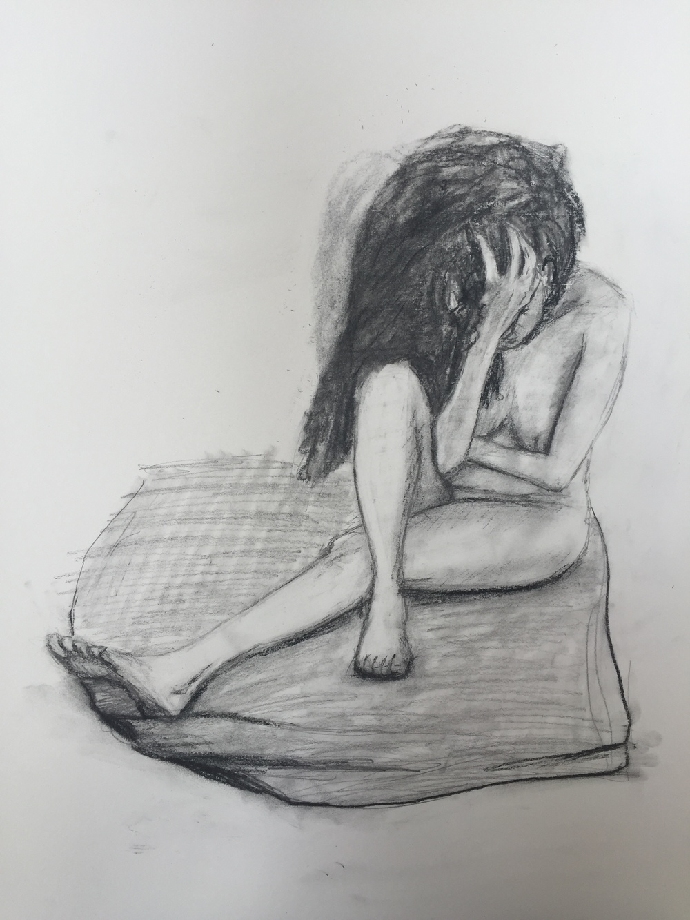 Nude Figure, March 2016