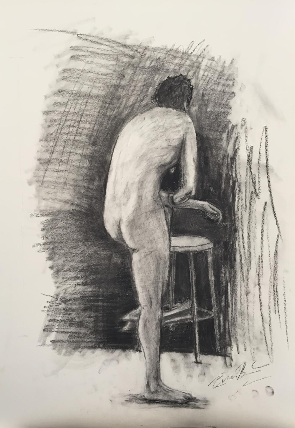 Nude Figure, 2016