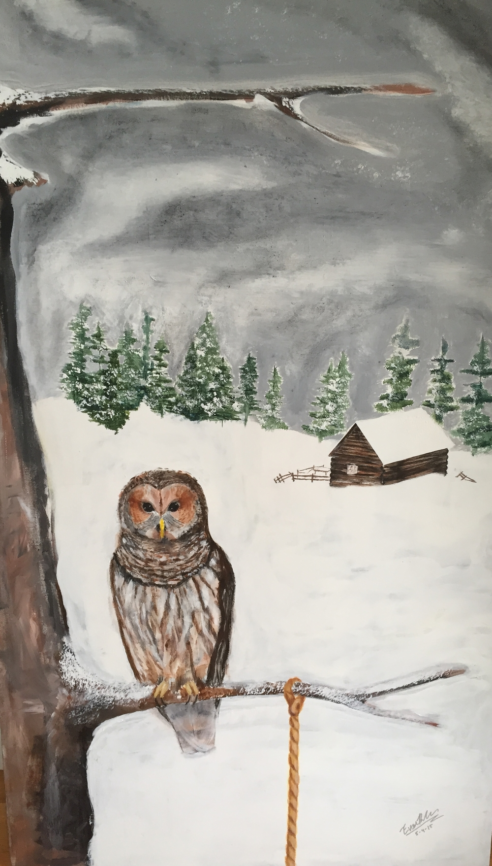Owl & Tree, 2015
