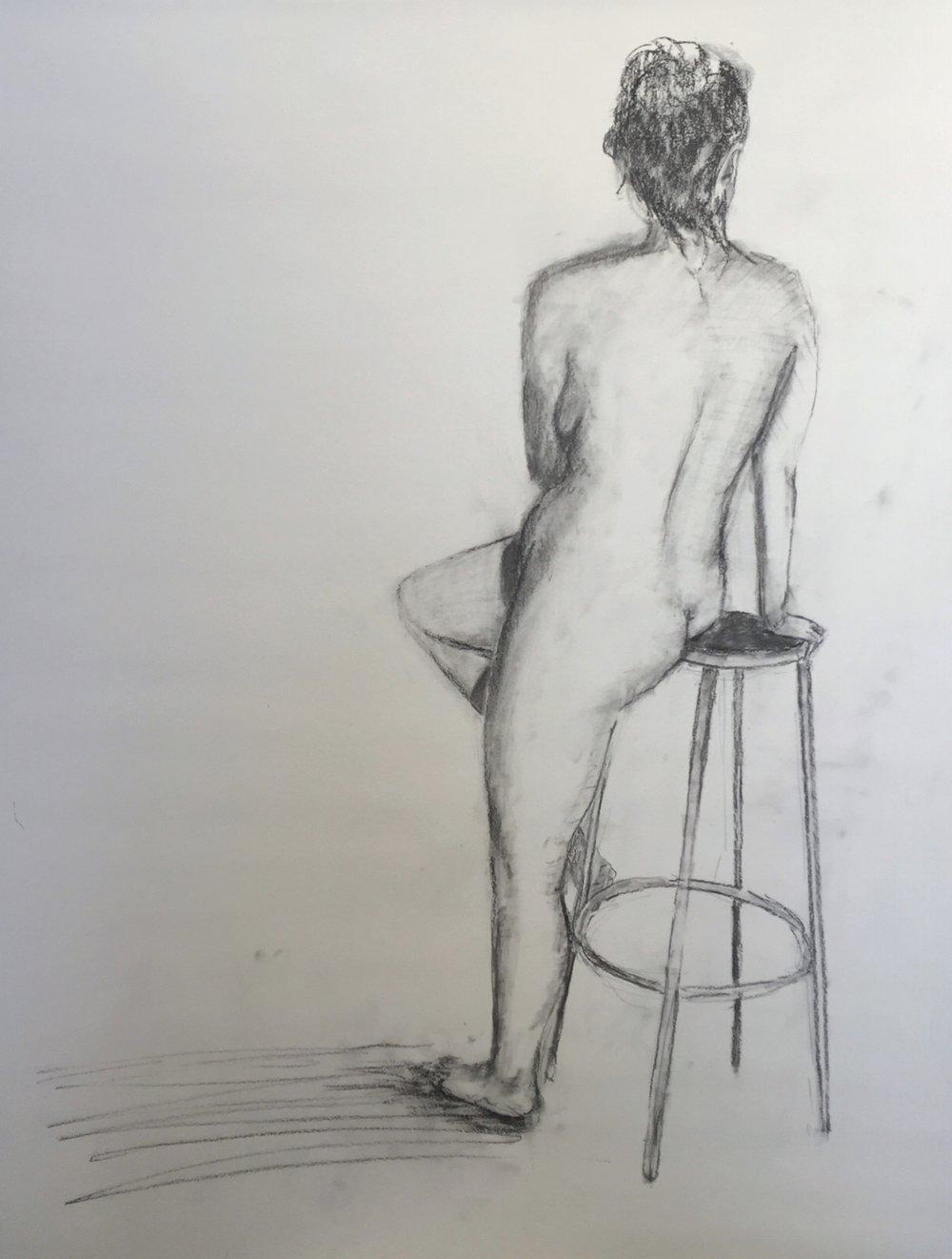 Nude Study, 2016
