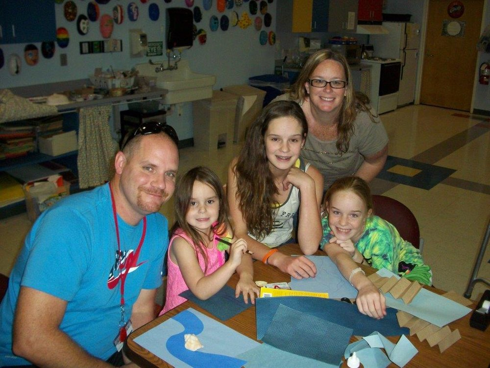 Patient Kayla Smith and family