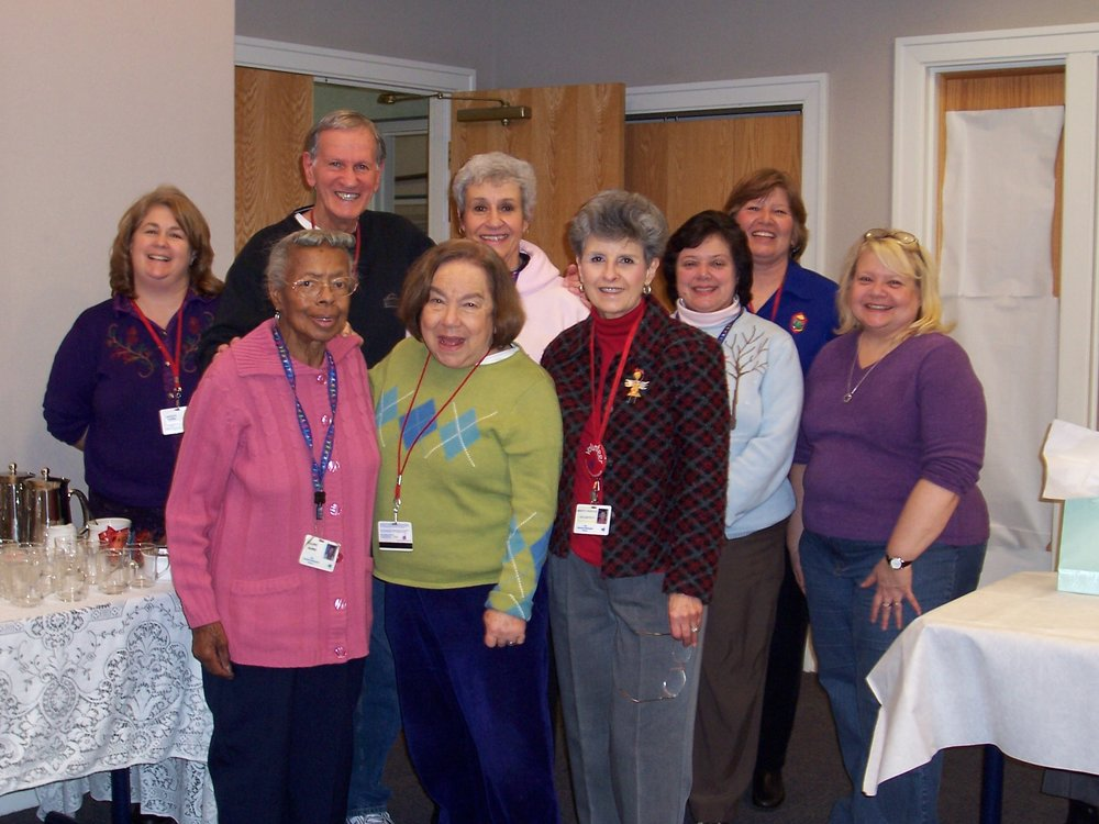 Volunteers with Willa at her Farewell.jpg