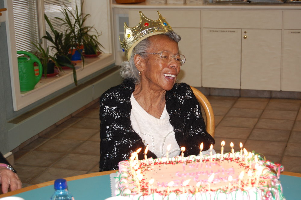 Willa Jones 95th Birthday Celebration at the Ronald McDonald House of Cleveland.