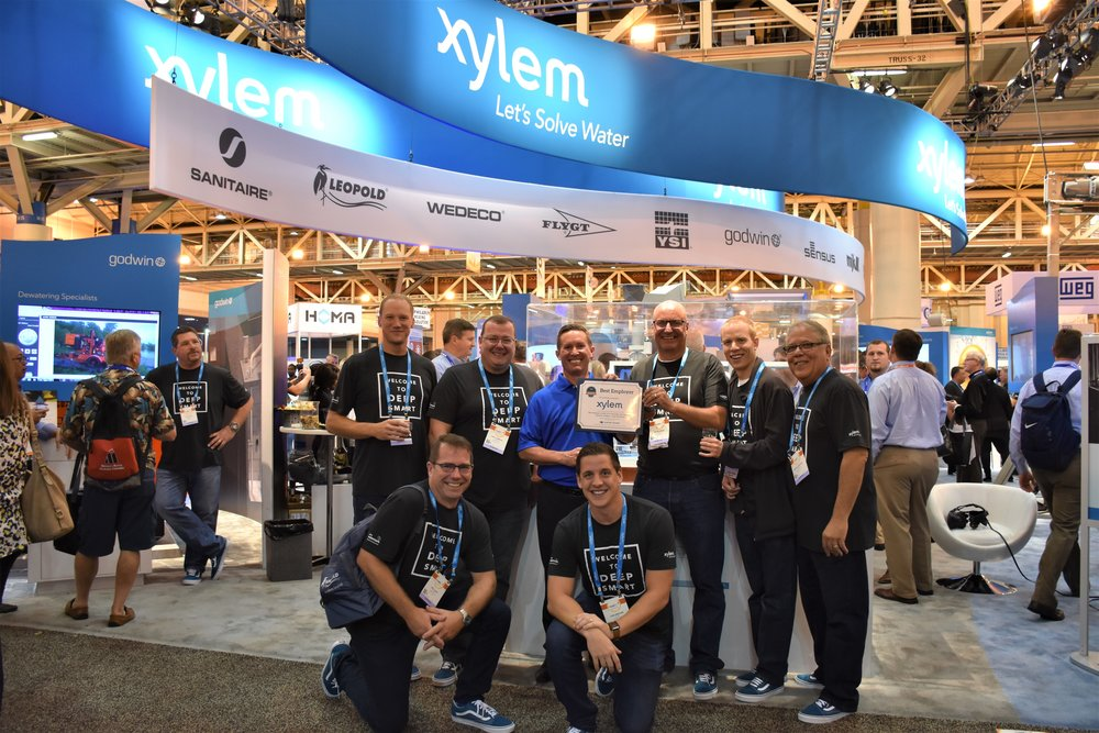 Xylem accepts Best Employer Award: Category - Large (Domestic)