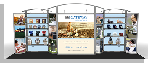 Tradeshow Displays - Attract customers with a visually stunning tradeshow display.