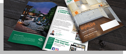 Magazines - Showcase your products and services with a beautifully designed magazine.
