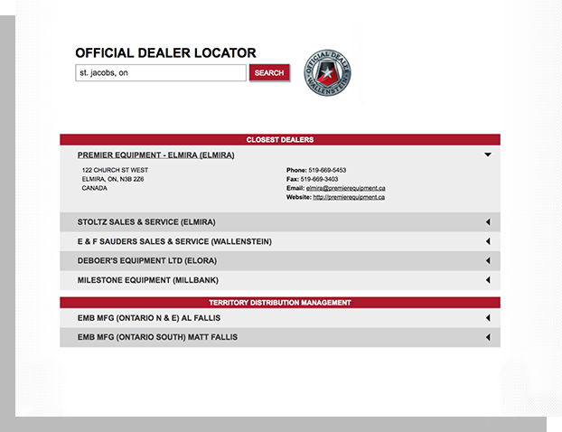 Dealer Locator - Dealer locators make it easier for customers to find your products.