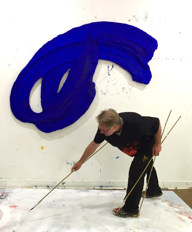 Donald Martiny at work.