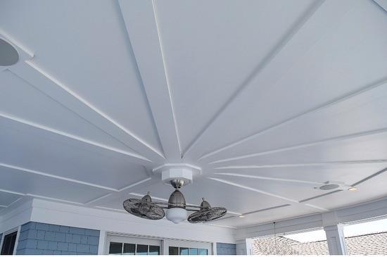 Custom exterior soffit #wkcoastalbuilders #homeswellbuilt #finehomebuilding #keepcraftalive