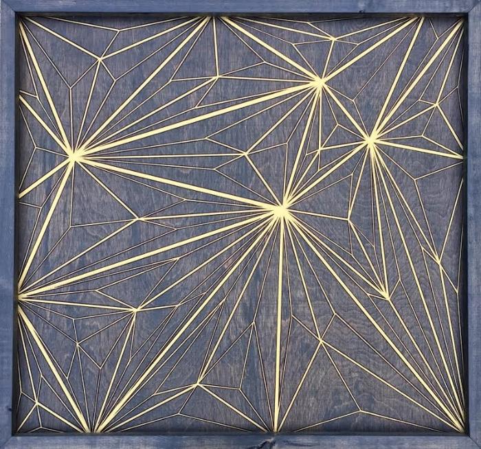 Geometric New Year by Natalia Heiser