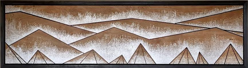 Foggy Mountain by Natalia Heiser