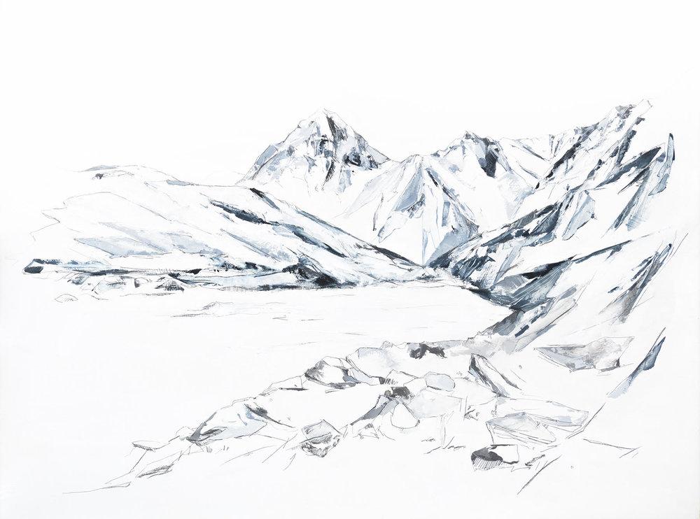 Unfolding I by Mya Kerner