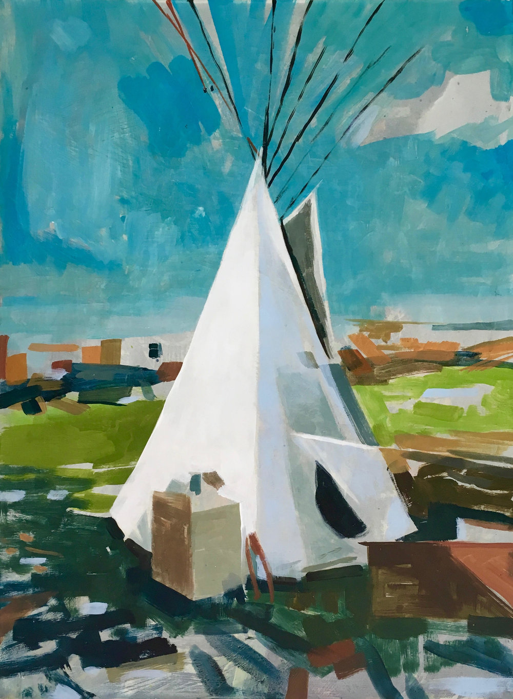 Tipi by Erica Lamberson