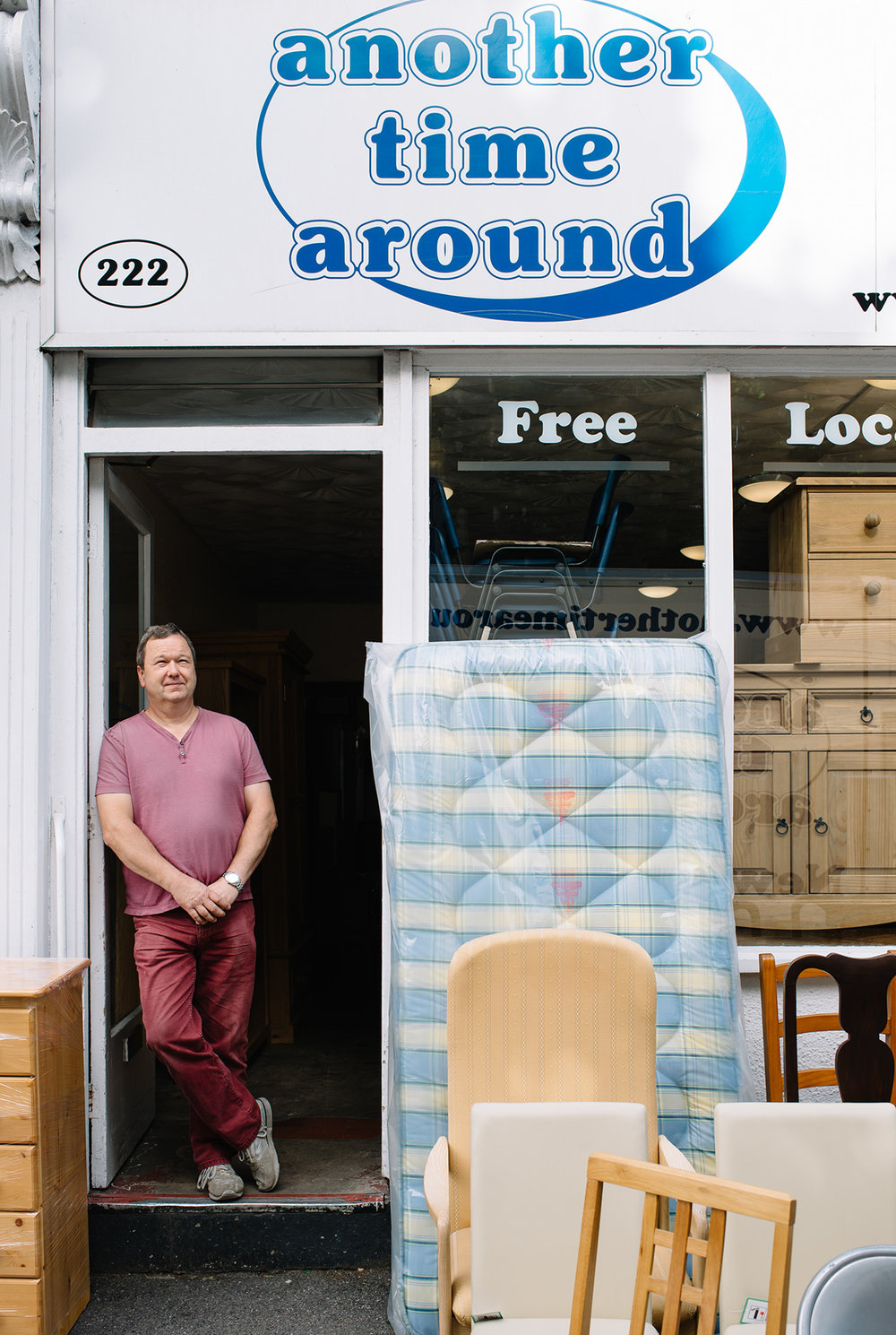 Hamish Hendry,  Another Time Around, New and Secondhand Furniture