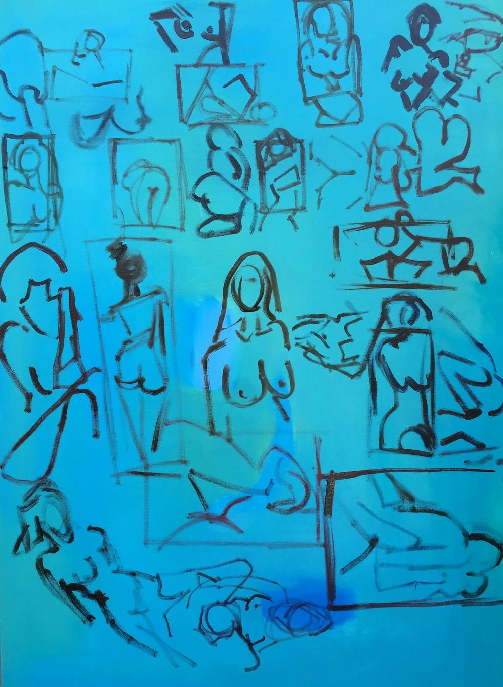 "Twist,""40x60""oil on canvas"