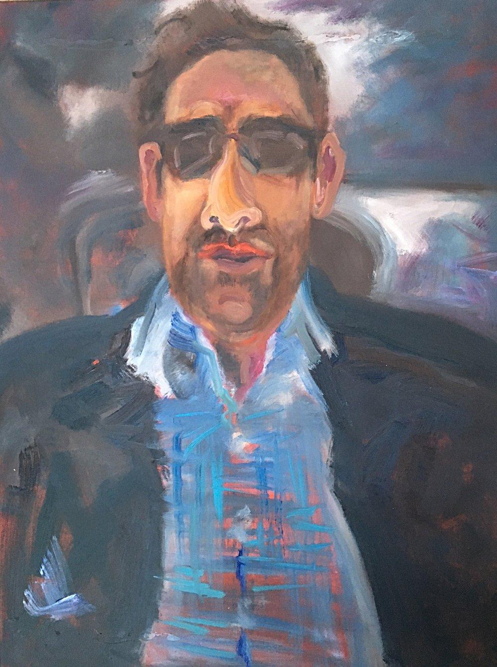 """36x48, oil on canvas,""""Josh"""""""